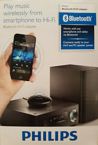 Audio-Bluetooth-Hi-Fi-PHILIPS-AEA2000-Bluetooth-Adapter-fuer-Digital-Player-Neu