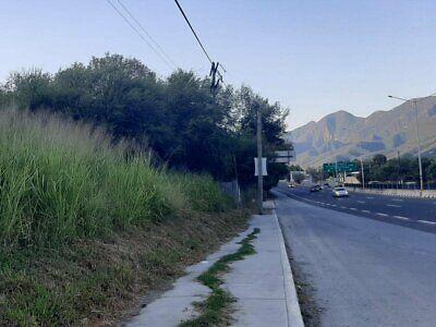 Renta Terreno Comercial Frente Carretera Nacional en Santiago Nuevo León 1057