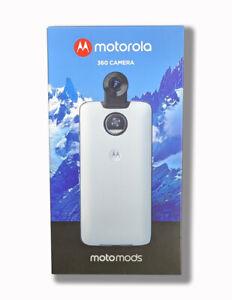 Motorola 360 Camera Moto Mods 89596N - 4K Video for Moto Z Phones - White