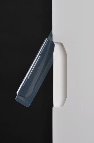 5x Durable DURASWING JOB Zweiteilige Bewerbungsmappen mit Clip Farbe WEISS