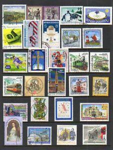 Austria (1998) Scott #'s: 1744-1774 - Cancelled