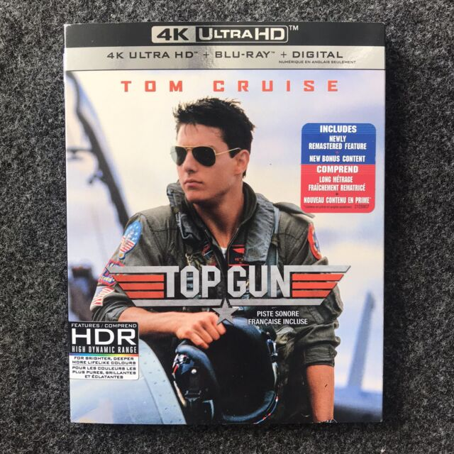 "Top Gun (4K Ultra HD + Blu-ray + Digital) ""Brand New"" ""Sealed"""