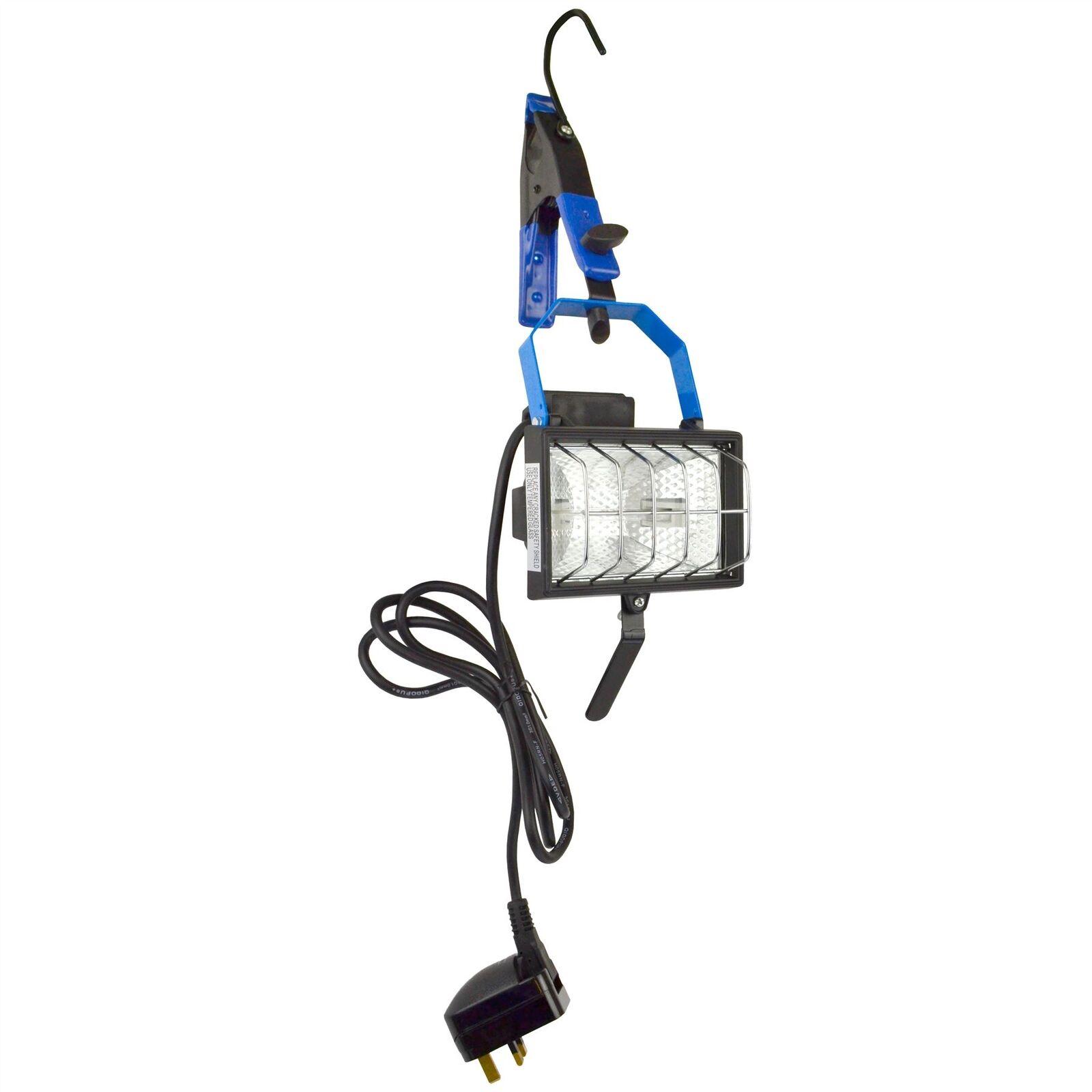 Hanging Work Light Floodlight Halogen Adjustable   Portable   Garage 150W SIL03