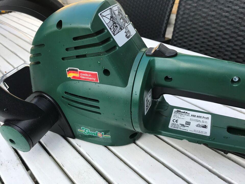 Hækklipper, Gardol GHS 6060-HSD 600 profil