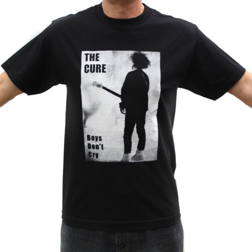 The Cure Boys Don/'t Cry Rock Band Graphic T-Shirts