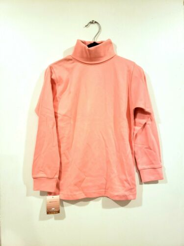 NWT Turtleneck Carlino Kids Tops Size 4 7 8 /& 14 Pink Color Long Sleeves