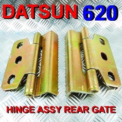 2PCS METAL HINGE ASSY REAR TAILGATE GATE FIT FOR DATSUN 620 PICKUP