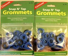 "16 1/2"" SNAP-N -TAP GROMMETS 2 - 8 PK'S EASY TO USE ON CANVAS, PLASTIC OR TARPS!"