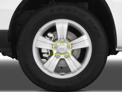 06-11 RONDO Genuine OEM KIA Logo Wheel Center Cap 4EA Set For 06-10 SEDONA