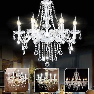Modern-ceiling-lights-Chandelier-Crystal-Droplets-light-shade-Pendant-6-8-10-ARM
