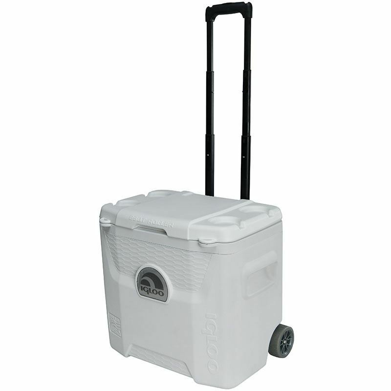 IGLOO MARINE ULTRA QUANTUM 28 COOLER Roller portatile ICE COOL scatola  Fast Consegna