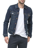 Lee New Men's Rider Jean Denim Trucker Jacket Favorite Worn Blue S M L XL XXL