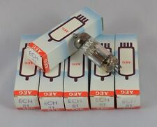 VALVULA ECH81 - 6AJ8 AEG NUEVA NEW NOS TUBE IN BOX TELEFUNKEN MADE TESTED