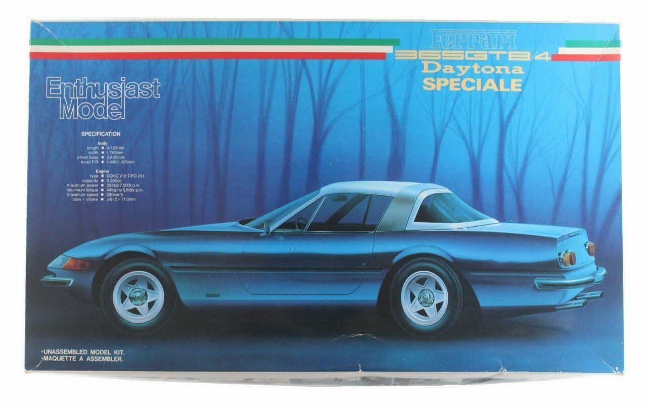 Fujimi 1 24 Entusiasta Modelo Ferrari 365 Gtb 4 Daytona Speciale