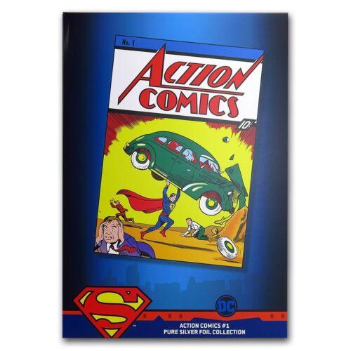 2018 Niue 35 gram Silver DC Action Comics #1 Foil Collection