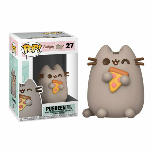 Nuovo di Zecca * Pusheen Pop Figura in vinile-Pusheen con pizza