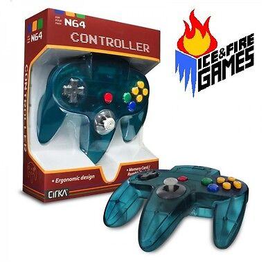 Brand New Controller for Nintendo 64 - ICE BLUE Funtastic N64 JoyPad