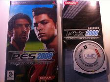 PES 2008 PRO EVOLUTION SOCCER COMPLETO PSP! USATO SICURO! VERSIONE ITALIANA!