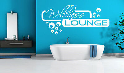 Wandtattoo Aufkleber Wellness Lounge Bad Badezimmer Retro Dots Kreise S-XL tx022