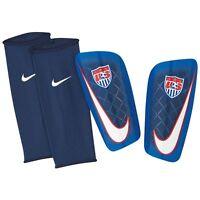 Nike Mercurial Lite United States Usa 2014 - 2015 Shin Guard Slip Shield Royal