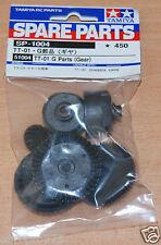 Tamiya 51004/9005714 TT01 G partes (Gear) (TT-01/TT01D/TT01E/TT01ES/TT01R), nuevo en paquete