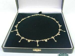 Unique-Design-14k-Gold-Ruby-Emerald-Designer-Necklace
