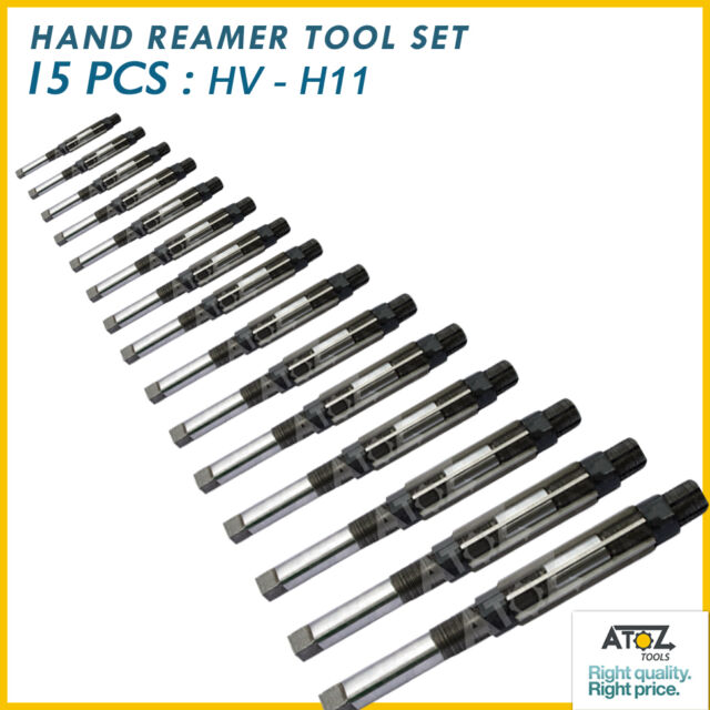 """1/""""  ADJUSTABLE HAND REAMER 15//16 TO 1-1//16"""