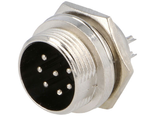 Spina Microfonica presa pannello Connettore 7 Poli MIC337