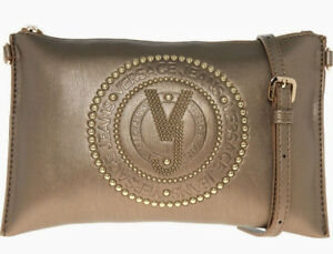 13c24941aa9 Versace Jeans 2019 Gold Stud Crossbody Clutch Bag Handbag Evening ...