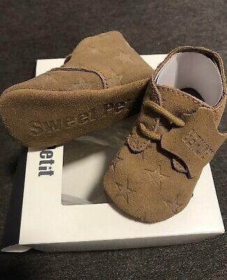 Details zu Prenatal Newborn Schuhe Baby Schühchen Echt Leder NEU OVP