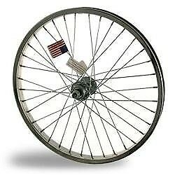 Statru Osco 20X1.75 7X Steel Rear Wheel Bmx Fw Chr