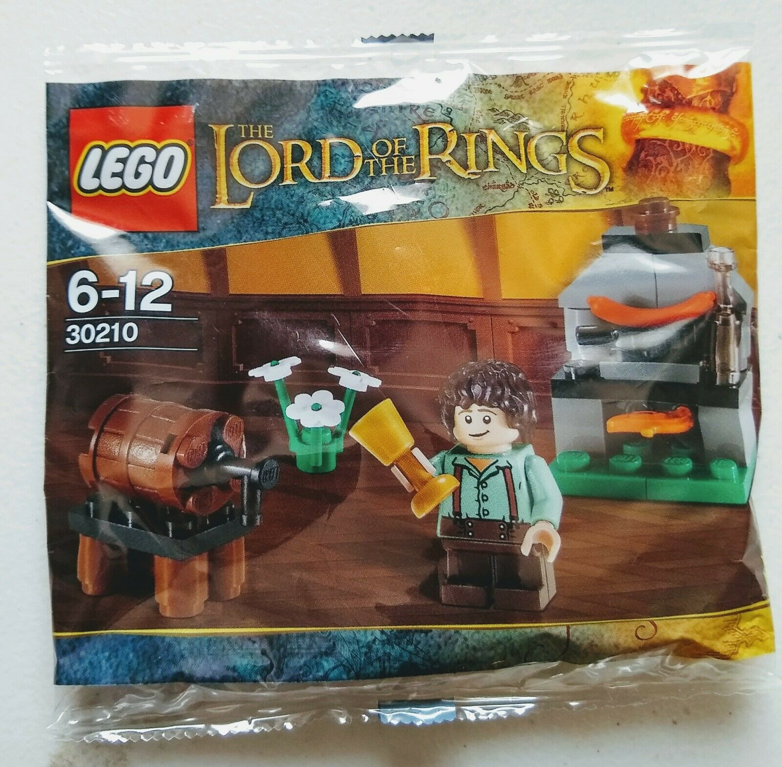 Lego Lord of The Rings 30210 Frodo with cooking corner New In Factory Sealed Bag