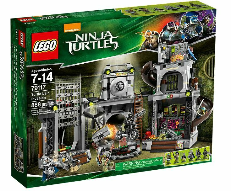 LEGO® Teenage Mutant Ninja Turtles 79117 Turtle Lair Invasion NEU OVP NEW MISB