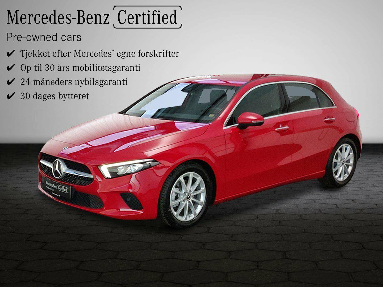 Mercedes A180 d 1,5 Business Progressive Line aut. 5d - 332.100 kr.