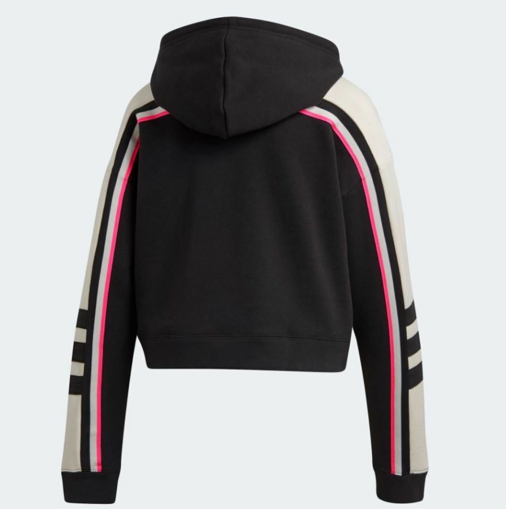 NEW NEW NEW ADIDAS ORIGINALS WOMEN'S TREFOIL RACING  HOODIE SIZE LARGE   DH4214 ead842