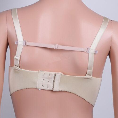 With Clip Women Elastic Band Adjustable Bra Straps Holder 5pcs Non-Slip