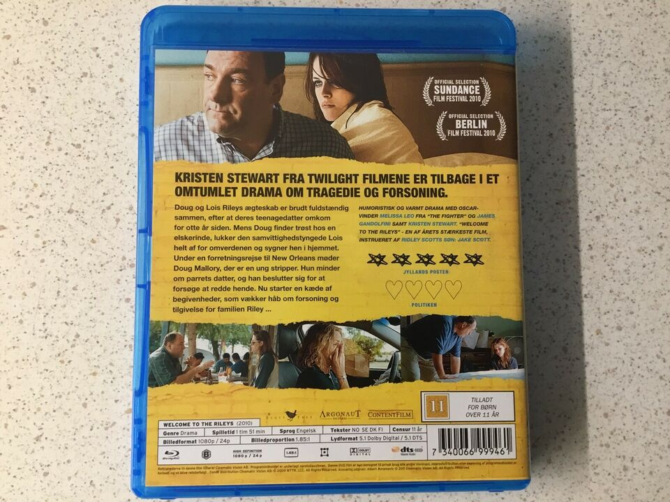 Welcome to the rileys, Blu-ray, drama