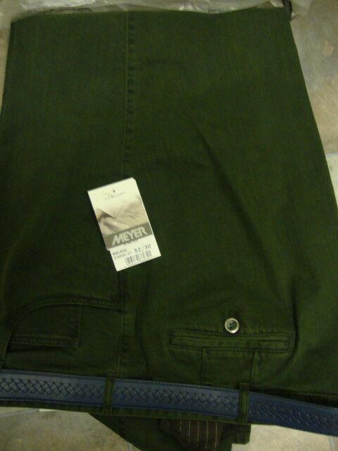 Meyer Malaga verde Pantaloni Elasticizzati 122cm50 52 52 52 Cm 515e6c
