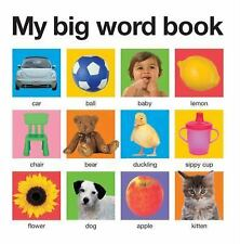 My Big Word Book by Roger Priddy (2012, Board Book)