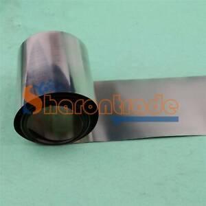 99.96/% Pure Nickel Ni Metal Foil Thin Sheet 0.05mm x 100mm x 100mm