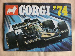 Corgi Toys catalog/ 1974
