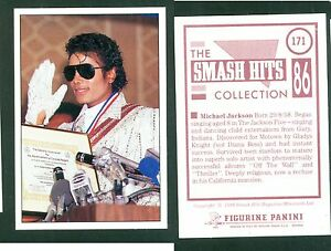 Micheal-Jackson-7x10-cm-Sticker-Brand-New-n-171-Notes-on-the-Back-1986