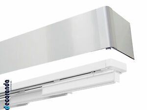 Binari Per Tende Scorrevoli.Dettagli Su Binario Tenda A Pannelli Scorrevoli Alluminio Bastone Scorritenda A Pannelli