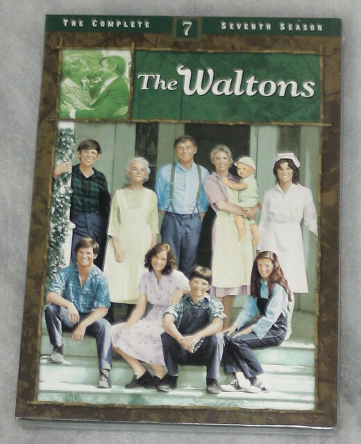 The Waltons Complete Season 7 Seventh - DVD Box Set NEW SEALED