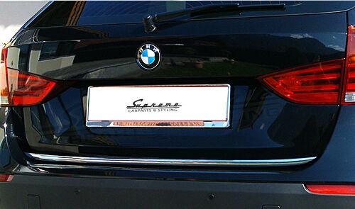 BMW  X1 E84 Chrom Zierleiste 3M Tuning Heckleiste