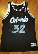 SHAQUILLE O'NEIL Orlando Magic CHAMPION NBA Jersey Men's Size 48 EUC Vintage
