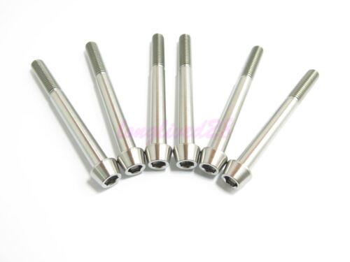 Titanium M8 x 80mm Tapered Ti Bolt Taper Hex Allen Socket Head Screw GR5