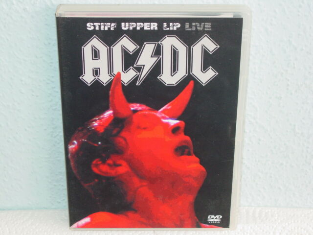 "*****DVD-AC/DC""STIFF UPPER LIP LIVE""-2001 Warner Music Vision*****"