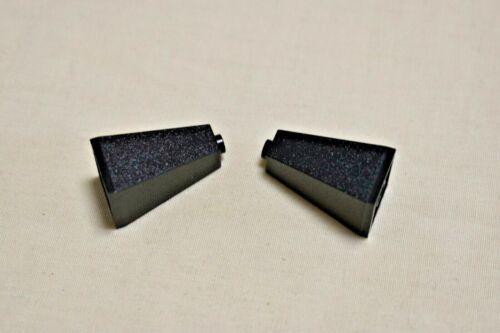 Lego 2 Stück 3865 schwarz großer Dachstein 2x2x3 doppelt konvex