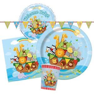 noah 039 s ark baby shower tableware amp decorations birthday napkins